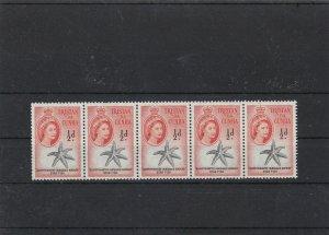 tristan da cunha mint never hinged block stamps ref 16663