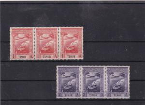 portuguese timor 1938 mnh air stamps   Ref 9346