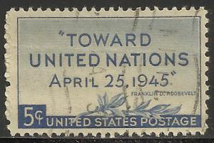 United States 1945 Scott# 928 Used