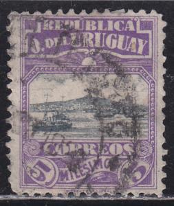 Uruguay 225 Harbour of Montevideo 1919