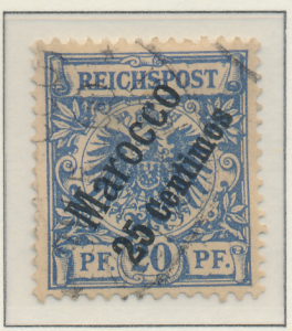 Germany, Offices In Morocco Stamp Scott #4, Used, Good - Free U.S. Shipping, ...