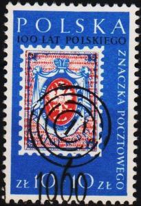 Poland. 1960 10z+10z S.G.1171 Fine Used