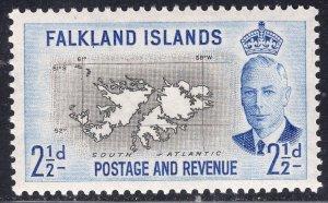 FALKLAND ISLANDS SCOTT 110