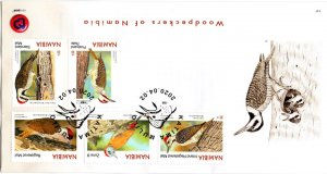 Namibia - 2020 Woodpeckers FDC