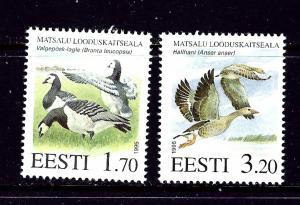 Estonia 283-84 MNH 1995 Ducks