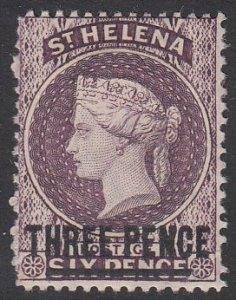St. Helena 37 MH CV $9.00