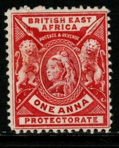 BRITISH EAST AFRICA SG66 1896 1a CARMINE-ROSE MTD MINT
