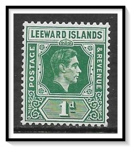Leeward Islands #121 KG VI MH