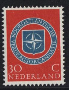 Netherlands 1959 MNH  NATO  30ct   #