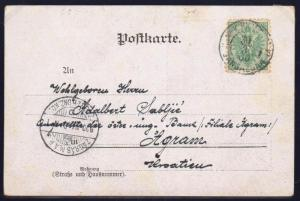AUSTRIA BOSNIA 1900. 5 heller EARLY USE a day before official use