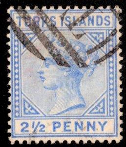 Turks Island Scott 52 Used.
