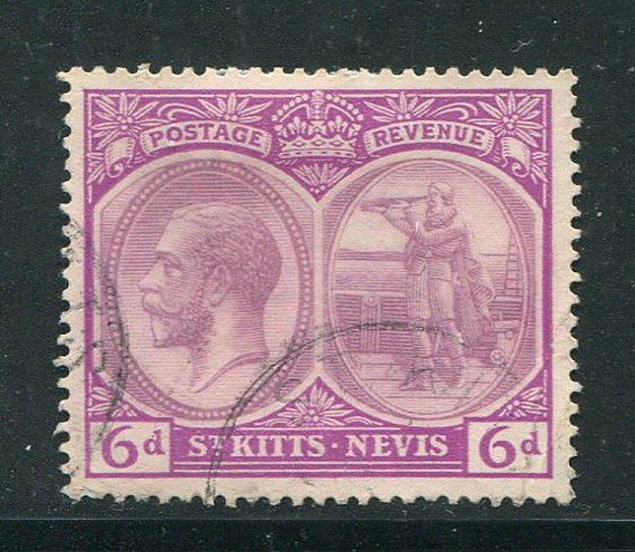 St Kitts Nevis #47 Used