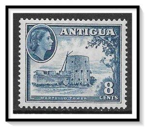 Antigua #114 QE II & Martello Tower MH