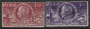 Ireland 135-136 complete set used