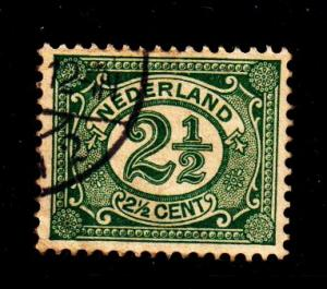Netherlands -#60 Numeral - Used