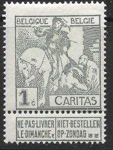 Belgium B1 MH. Fight TB.