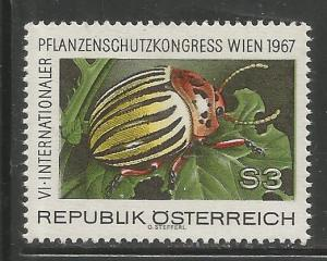 AUSTRIA 796   MNH  POTATO BEETLE ISSUE 1967