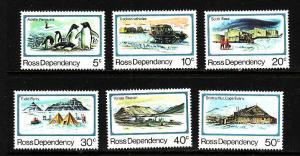 Ross Dependency-Sc#L5-20- id8-unused NH set-Penguins-Base anniversary-1982-