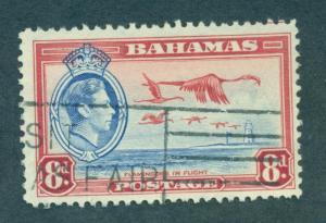 BAHAMAS SC# 108 F-VF U 1938