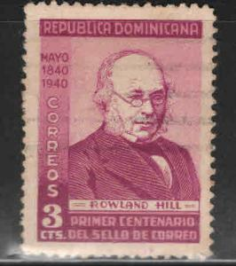 Dominican Republic Scott 356 used Rowland Hill stamp