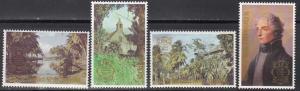 St Christopher, Nevis & Anguilla, SG434-437, MNH, 1980, International Stamp EXPO