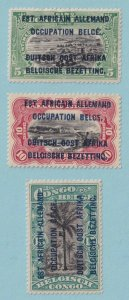 GERMAN EAST AFRICA 17 - 19  MINT HINGED OG *  NO FAULTS EXTRA FINE X667