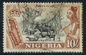 Nigeria Scott 90 Used.