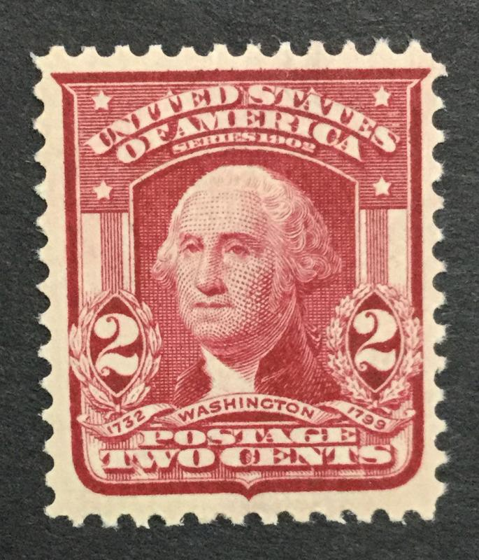 MOMEN: US #319f MINT OG NH $25 #23534