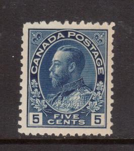 Canada #111a Extra Fine Never Hinged With One Trifle Short Perf **With Cert.**
