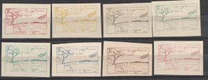 France 1922 La Brule Airmail Set  (S740)