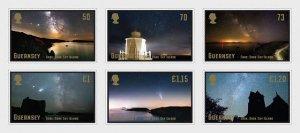2021 Guernsey Dark Skies (6) (Scott NA) MNH