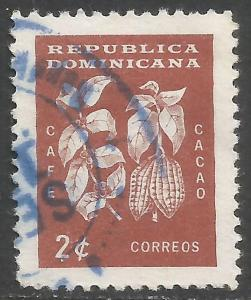 DOMINICAN REPUBLIC 554 VFU 787B-1