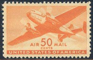 US Scott #C31 Mint, XF/S, NH