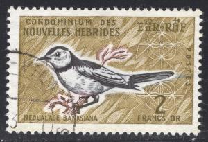 NEW HEBRIDES-FRENCH SCOTT 121