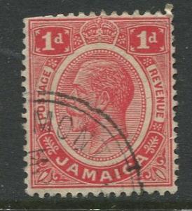 Jamaica -Scott 61a - KGV Definitive - 1912 - Used - Single 1p Stamp