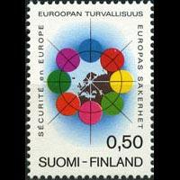 FINLAND 1972 - Scott# 523 Conf.on Security Set of 1 NH