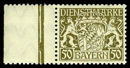 BAVARIA O29(var)  Mint (ID # 58588)