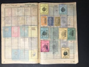 Central and South America Revenue Stamps Mint/Used 1891-1906 (242 Stamps)