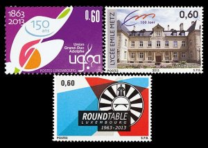 2013 Luxembourg 1963-1965 150 years of the Union Grand Duc Adolphe