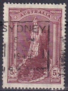 Australia #177 F-VF Used  CV $4.75 (Z2797)