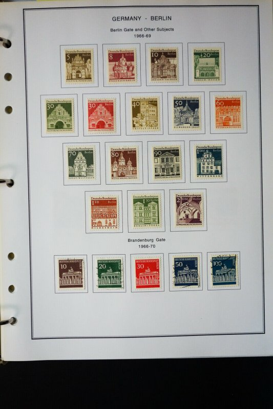 Germany Berlin Pristine Stamp Variety Collection