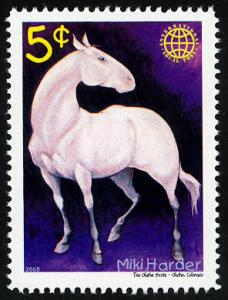Phuntastic Art of Miki Harder (#3) Intl. Local Post Stamp