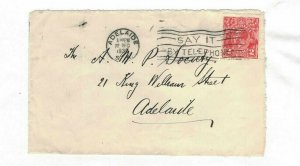 APH1435) Australia 1930 2d Red KGV Die I Small Cover