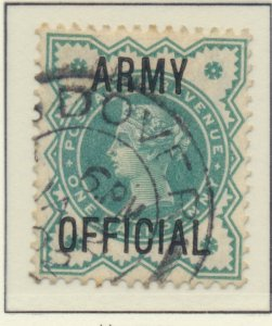 Great Britain Stamp Scott #O57, Used, Good Color, Nice Dover Cancel