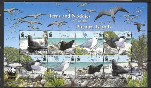 PITCAIRN ISLANDS SGMS728 2007 TERNS & NODDIES FINE USED