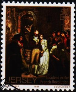 Jersey. 1983 11p S.G.321 Fine Used