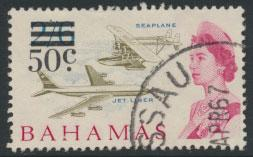 Bahamas  SG 284 SC# 241 Used  OPT Decimal Currency 1966