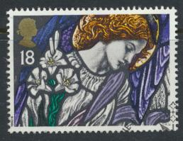 Great Britain  SG 1634 SC# 1468 Used / FU with First Day Cancel - Christmas 1992