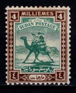 Sudan 1921 Arab Postman definitive, 4m [Mint]