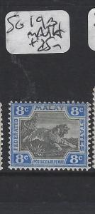 MALAYA  FMS (P2005BB)  8C  TIGER SG 19B    MNH